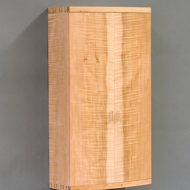 White Oak Wall Cabinet