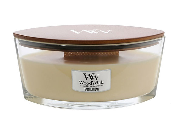 Woodwick Candle Hearthwick Vanilla Bean