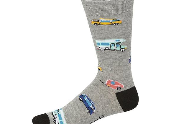 Bamboozld Men's Sock - Campervan
