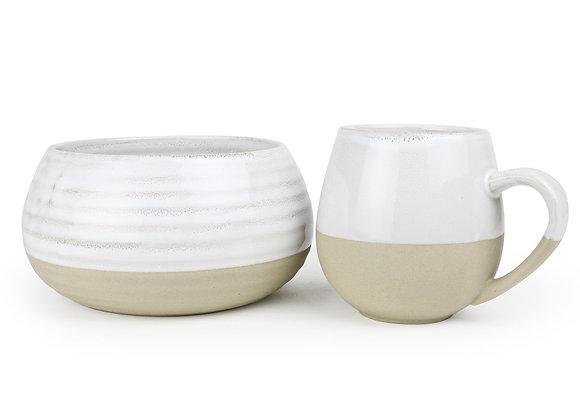Robert Gordon - Bowl & Mug Set - Snow