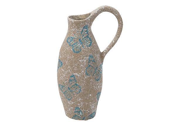 Ceramic Butterfly Jug Medium