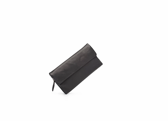 Dusky Robin Leather - Chloe Purse BLACK