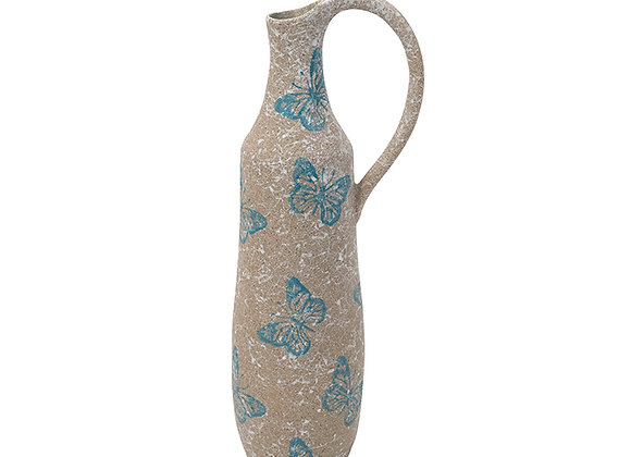 Ceramic Butterfly Jug Large