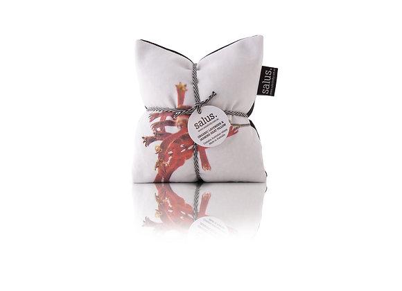 Salus - Red Botanical Lavender &Jasmine Heat Pillow