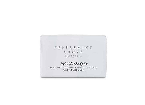 Peppermint Grove - Wild Jasmine & MInt Beauty Bar 200g
