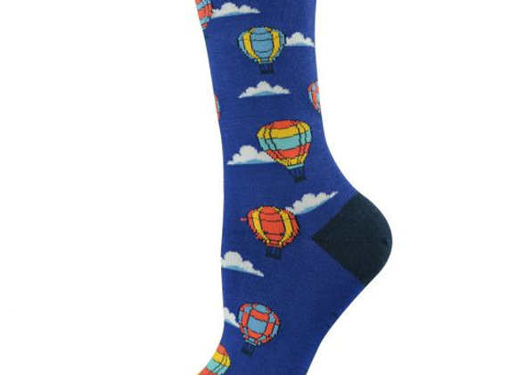 Bamboozld Ladies Sock -Hotairballoon