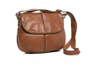 Rugged Hide Miranda Leather Cross Body Bag - Brown