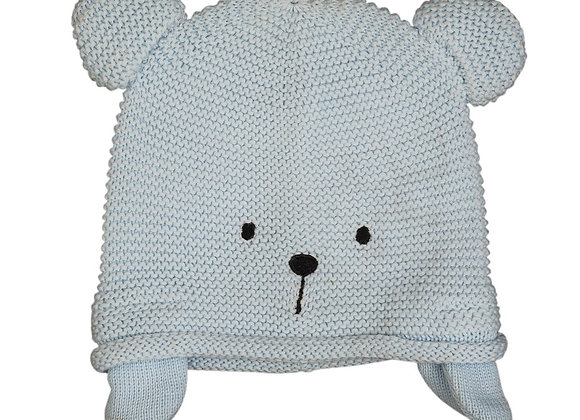 Emotion & Kids - Blue Teddy Knitted Hat