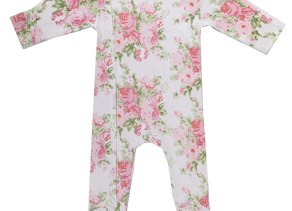 Emotion & Kids - Peony Rose Footed Outfit