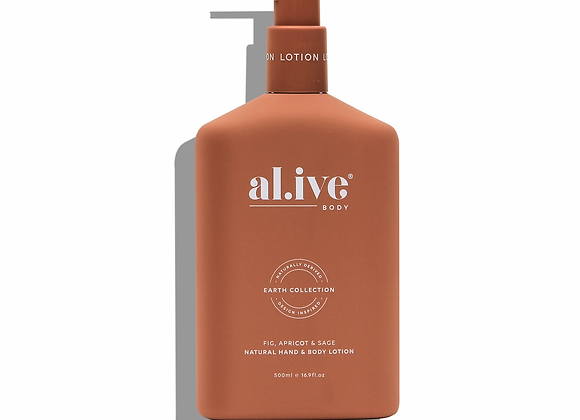 al.ive - Hand & Body Lotion - Fig, Apricot & Sage