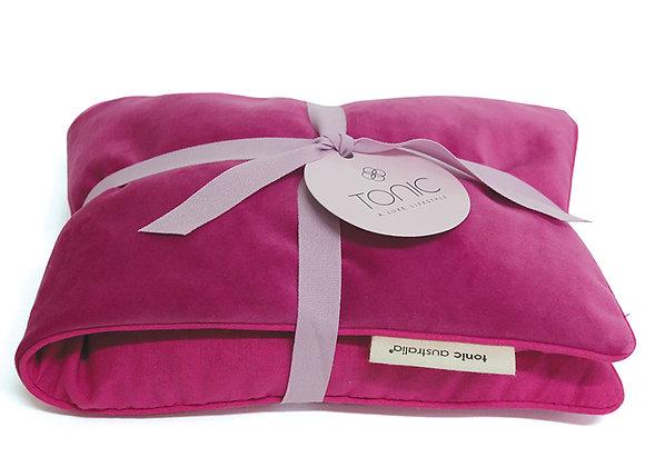 Luxe Velvet Heat Pillow Berry