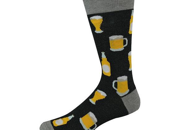 Bamboozld Men's Sock -Beer