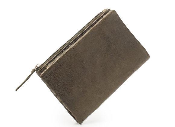 Dusky Robin Leather - Dusky Purse OLIVE