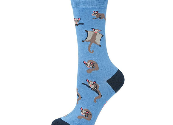 Bamboozld Ladies Sock -Sugar Glider