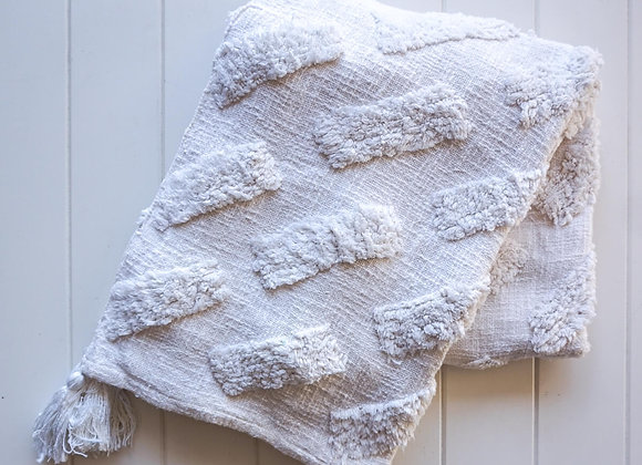 Throw Blanket - White