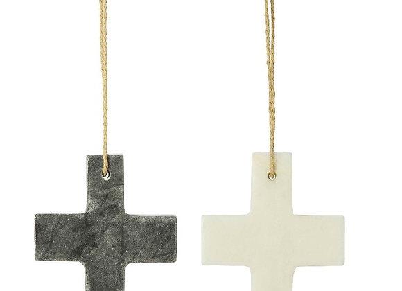 Marble Cross  BLACK