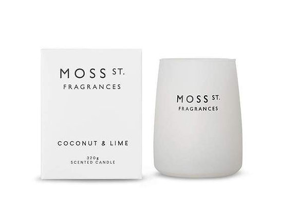 Moss St - Coconut & Lime Candle