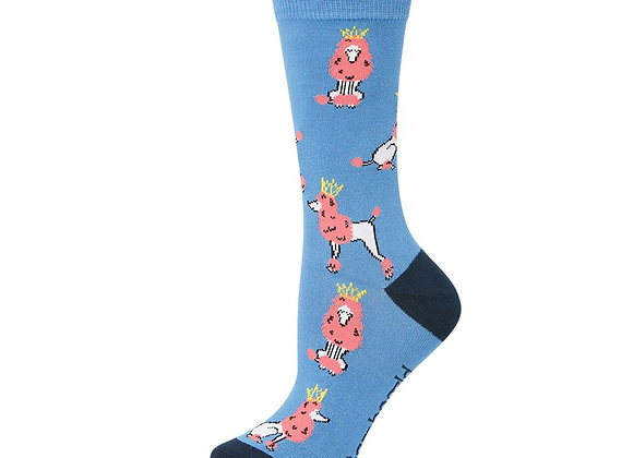 Bamboozld Ladies Sock - Posh Poodle