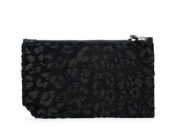 Black Caviar - Gabbie Black Leopard Card Holder