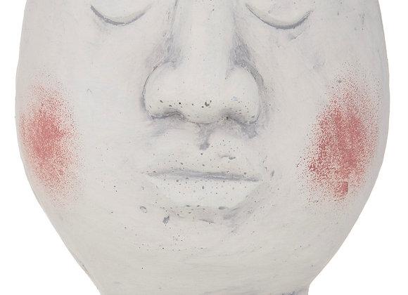 Concrete Round Face Planter - Medium 14cm