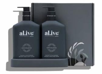 al.ive - Wash & Lotion Duo & Tray Coconut & Wild Orange