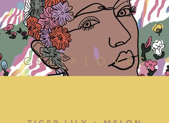 Celia Loves Limited Edition Tiger Lily & Melon Small