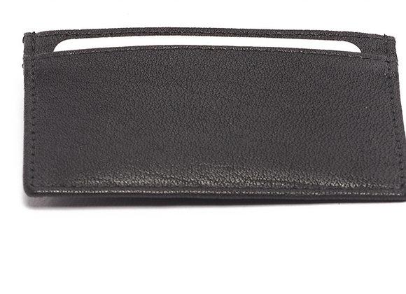 Card Holder Leather Black