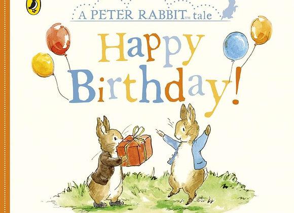 Peter Rabbit Happy Birthday Board Book