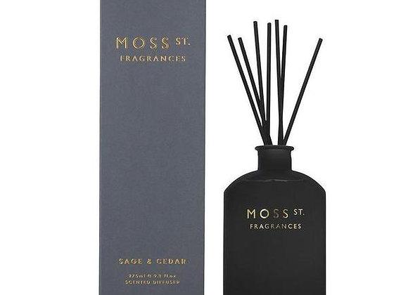Moss St - Sage & Cedar Diffuser