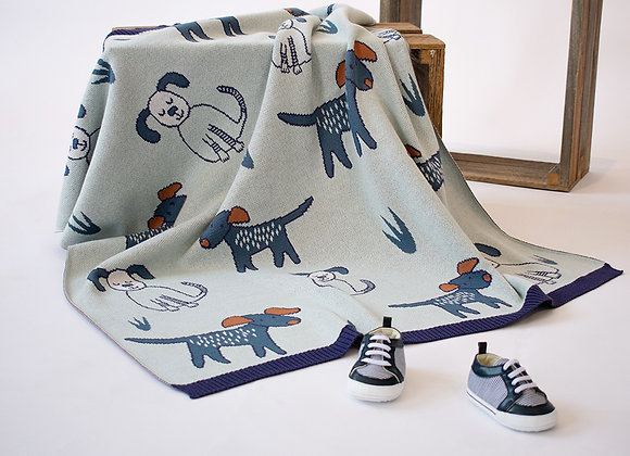 Indus Cotton Blanket  Dog