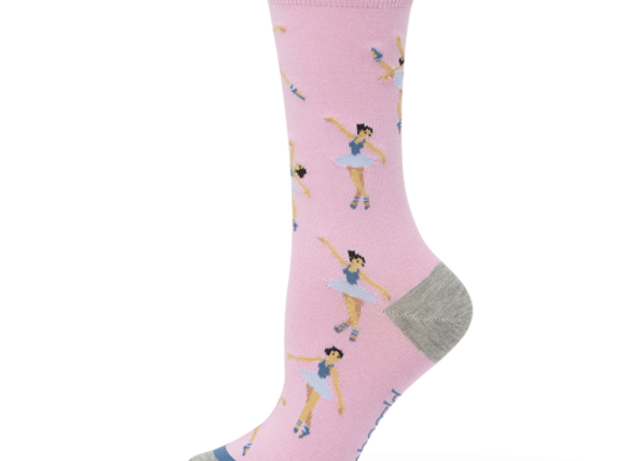 Bamboozld Ladies Sock -Nutcracker