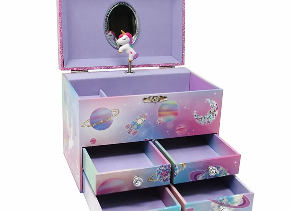 Unicorn Jewellery Music Box - Large