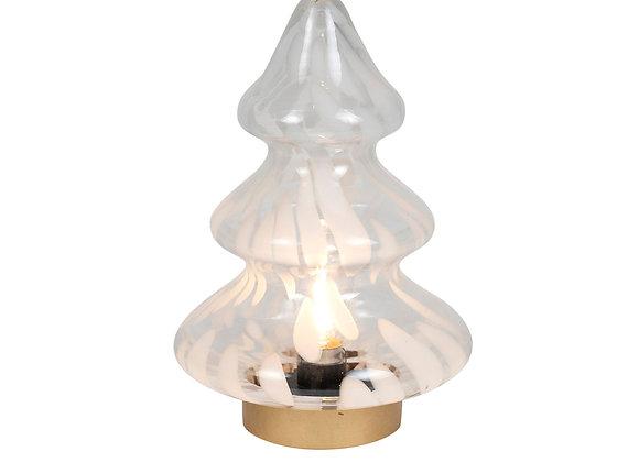 LED Glass Christmas Tree