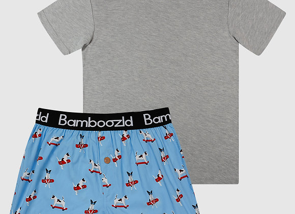 Bamboozld Mens Jack Russel Bamboo Tee & Boxer Gift Pack