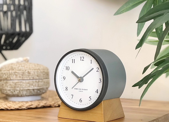 Charcoal Alarm Clock