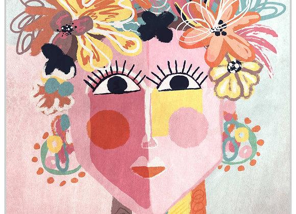 Flowercrown Framed Artwork