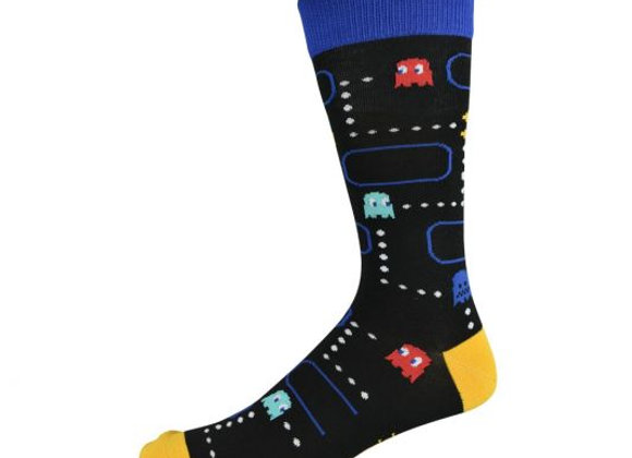 Bamboozld Men's Sock -Pacman Gameboy