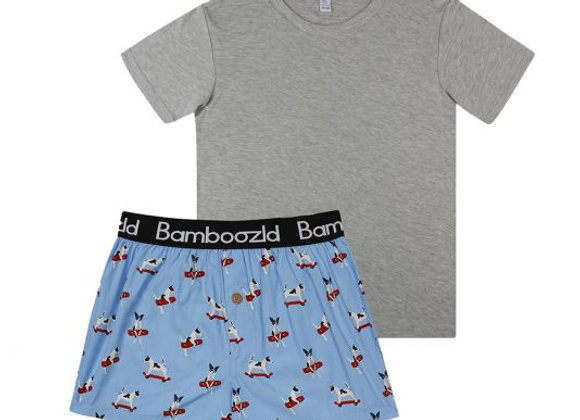 Bamboozld Jack Russell Gift Box Tee & Boxer  SIZE XL