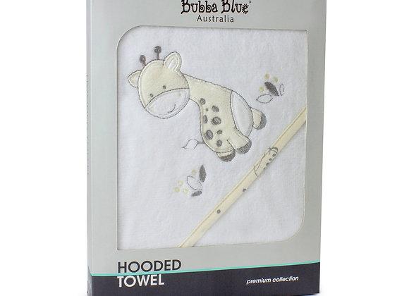 Bubba Blue - Vanilla Playtime Hooded Towel