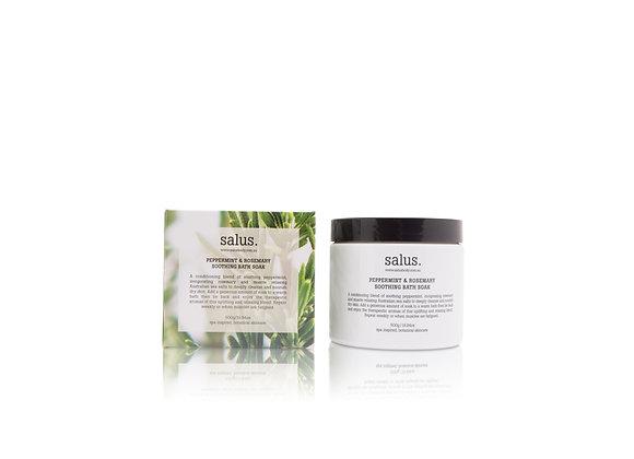 Salus - Peppermint &Rosemary Soothing Bath Soak 120g