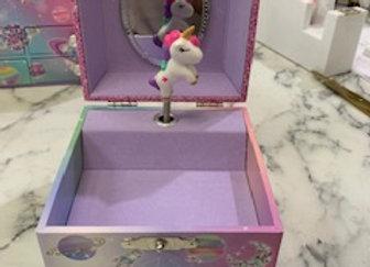 Unicorn Jewellery Music Box -Small