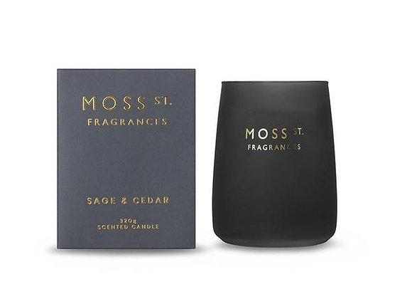 Moss St - Sage & Cedar Candle