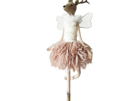 Reindeer Ballerina Standing Decoration