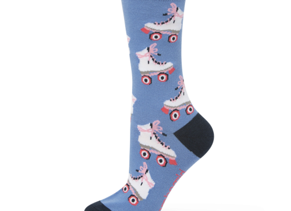 Bamboozld Ladies Sock -Roller Derby