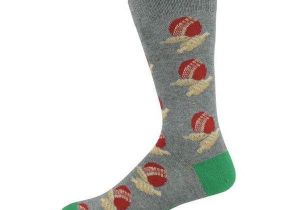 Bamboozld Men's Sock - Cricket