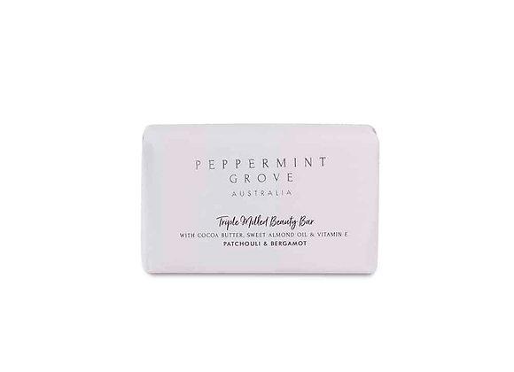 Peppermint Grove- Patchouli & Bergamot Beauty Bar 200g
