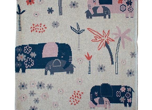 Indus Cotton Blanket - Ellie