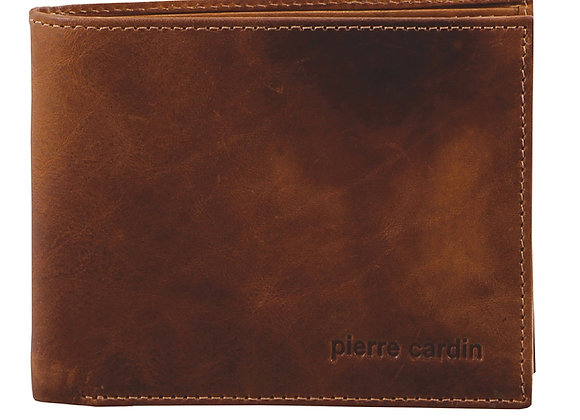 Mens Leather Wallet - Chesnut