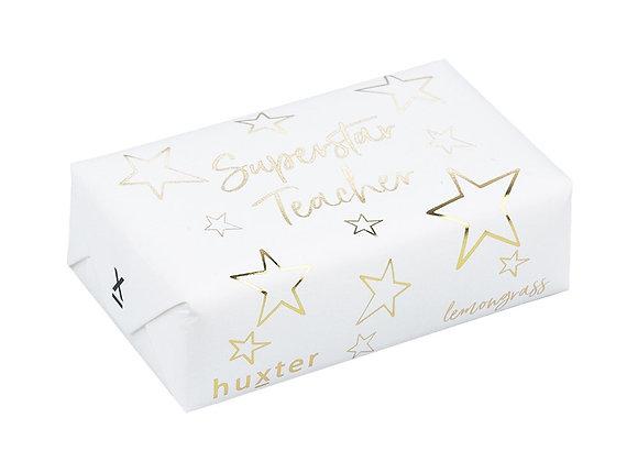 Huxter Soap - Super Star Teacher - Gold Foil