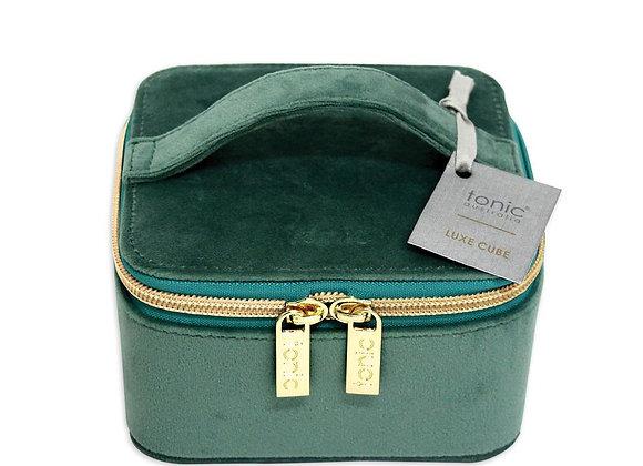 Tonic - Luxe Velvet Jewellery Cube - Moss